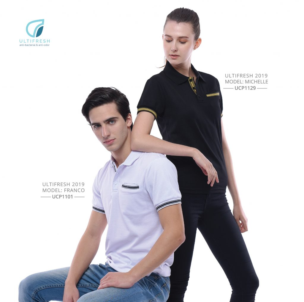 Anti-Bacterial Polo T-Shirt Printing