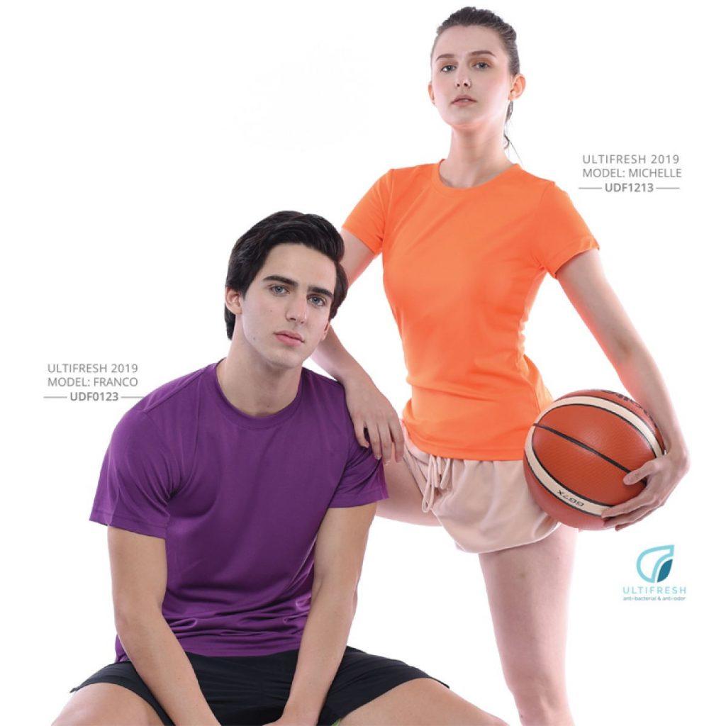 Anti-Odour CrewNeck T-Shirt Printing
