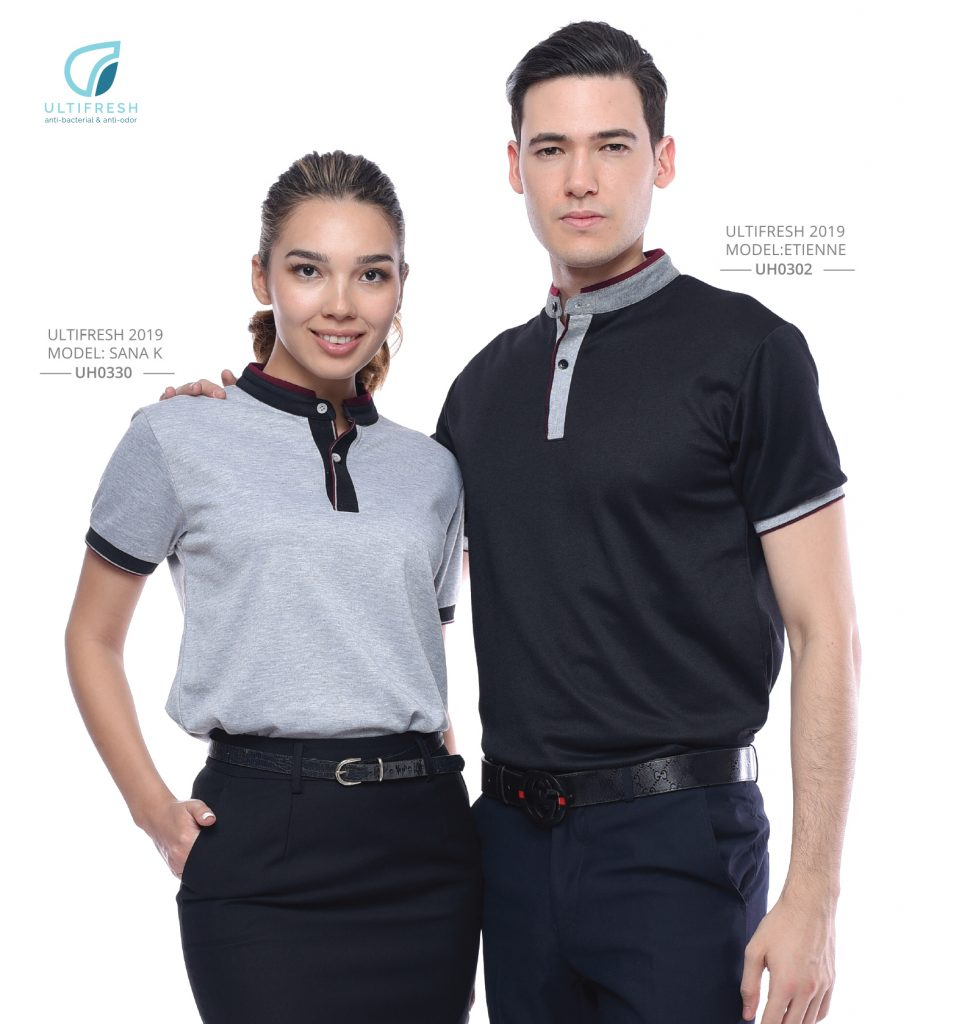 Anti-Bacterial Collar Polo Printing