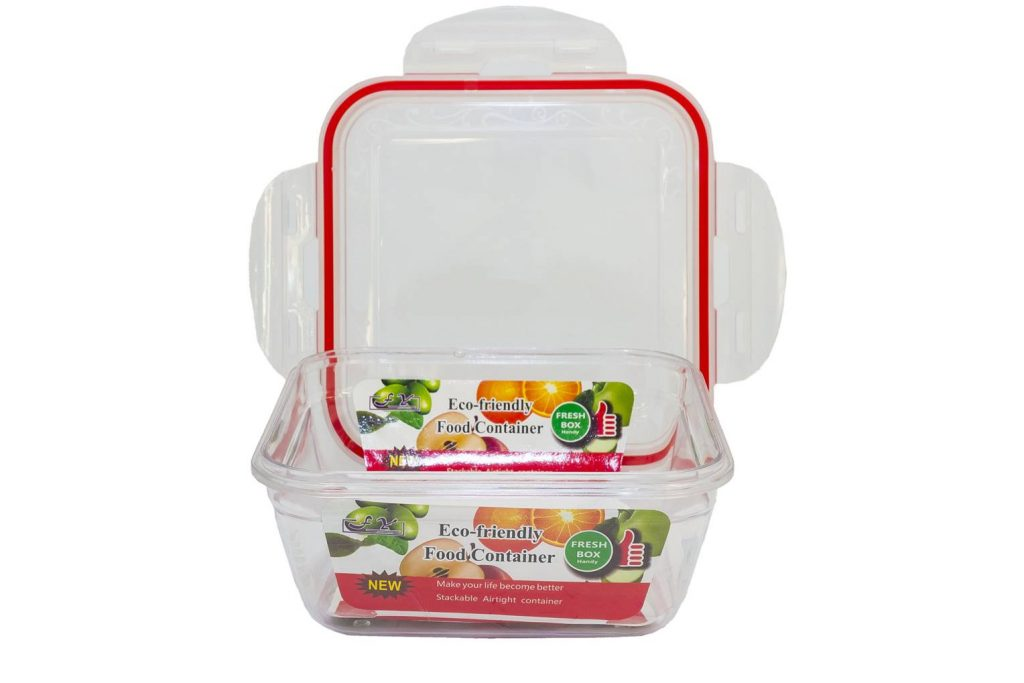 Square Lunch Box Printing