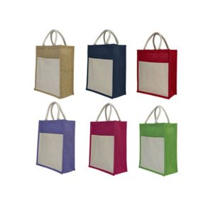 Tall Jute Bag Printing