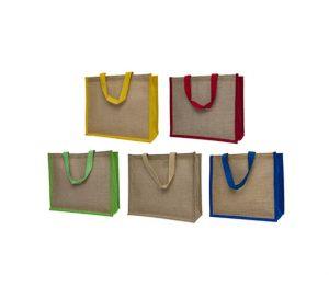 Landscape Panel Jute Bag Printing