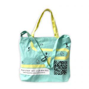 Adjustable Canvas Sling Bag Printing