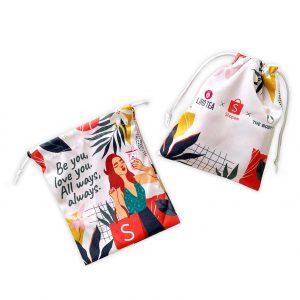 custom drawstring pouch