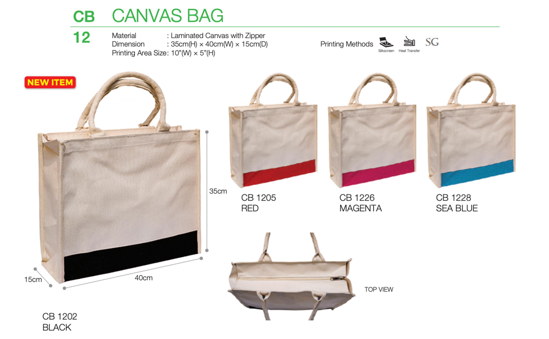 Laminated Canvas Bag Printing