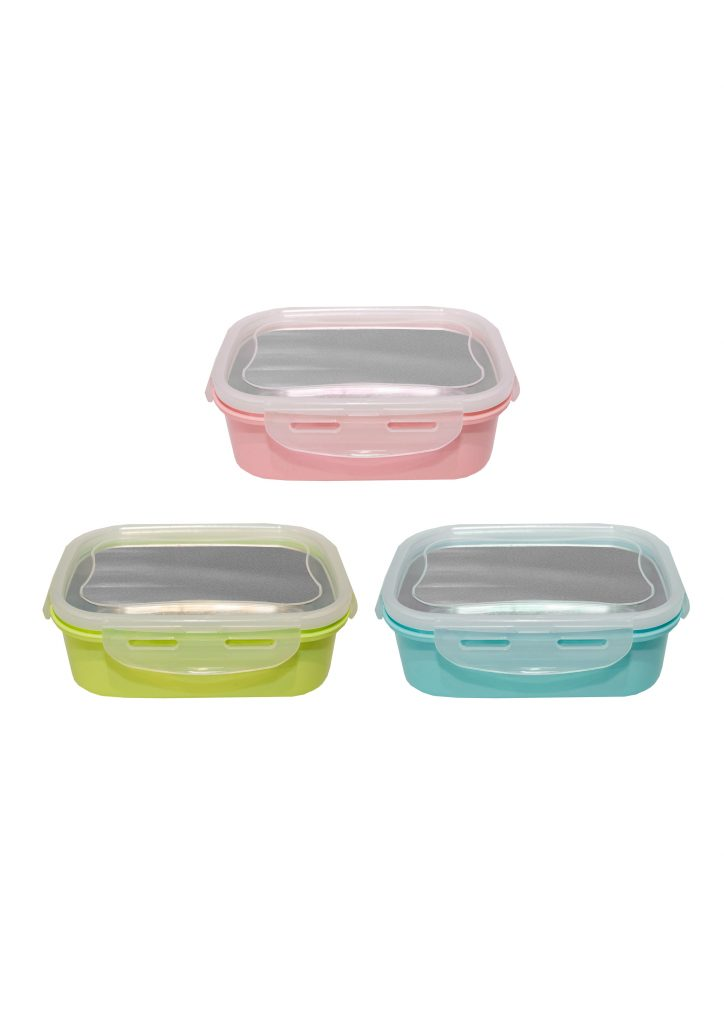 PP Stainless Steel Lunch Box Printing