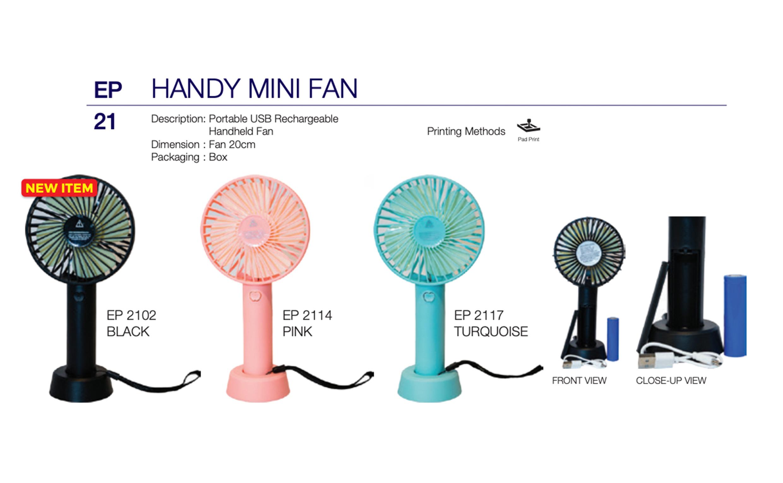 Portable Handy Fan Printing (EP21)