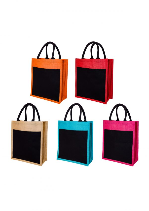A3 Portriat Jute Bag Printing