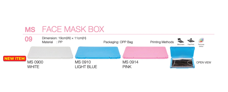 Custom Face Mask Box