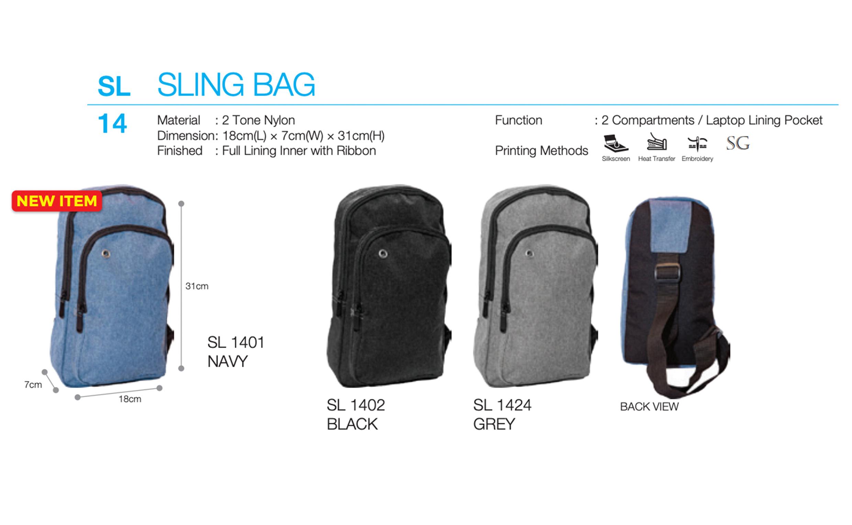 Sling Bag Printing SL14