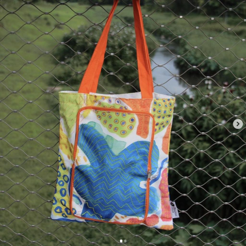 Custom Foldable Canvas Bag