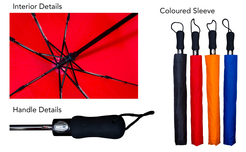 Foldable Auto Umbrella Printing (UM12)