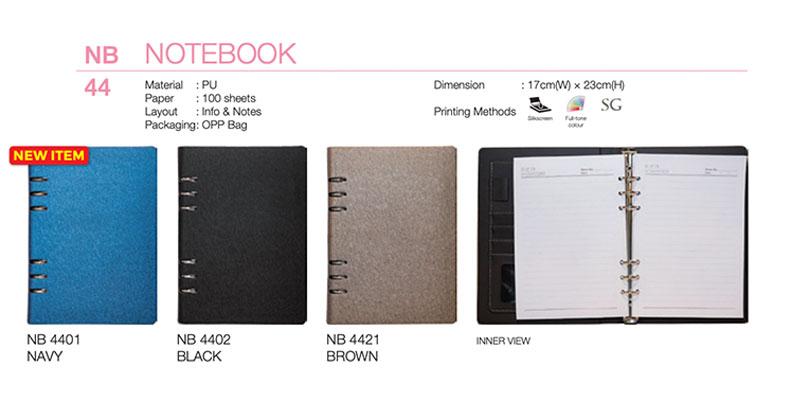 Custom Ring PU Notebook (NB44)